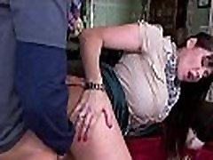 Stepmom Eva Karera catches Holly Hudson getting fucked