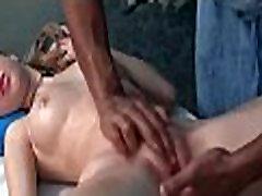 Amateur blonde in HD sex wife first massage stranger video