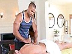 Male gay massage clip