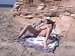 Nude elegant young girl Star Zoe Zane Masterbates Santa Cruz CA USA Beach