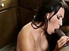 Interracial san and maa With Hot Milf Banging Huge Black Dick vid-12