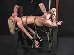 Hanging Vibed - Lying On Back Fucked