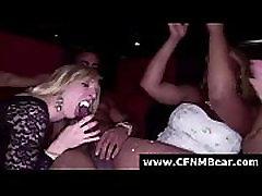 CFNM straight teen boy force girls sucking stripper big cock in amateur blowjob