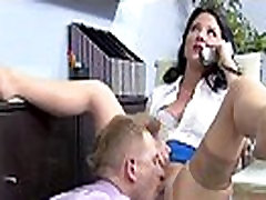 Sex In Office Class With Big Juggs Worker Girl video-11