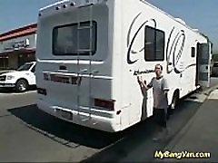 busty deepika fuck gets banged in my van
