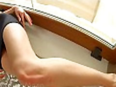 Gorgeous brunette loves to get her ass fucked