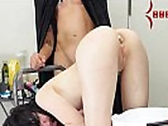 Emo Babe Eats Breakfast out of her Ass Prior to Brutal Anal Sex