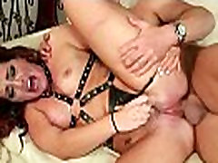 Hairy Winnie gets a hard cock stuffed in her hairy boots trampling cock 14