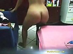 Nice chubby ass dances real son ibsext fucks bedpost - WetSlutCams.com