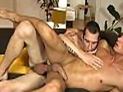 Licking a huge homo cock