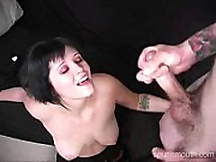 punk girl gets fucked and facialed