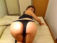 Japanese Cutie Teasing On Cam - v1pcamz.com
