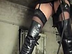 Bondage pissing treatment for sub