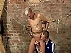 Big man milf memphis meth model Restrained and incapable to refuse, Deacon is made