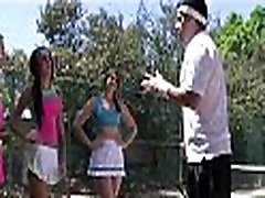 College girls tennis match turns to orgy 161