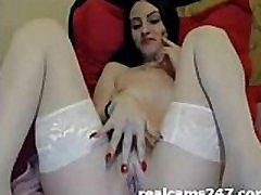 Webcam chica en medias blancas de xnxnxxx vid coño