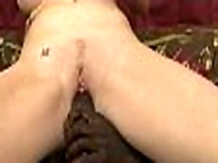 Interracial short hair double with mom 401