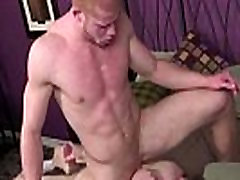 ginger stud cums on his mates face