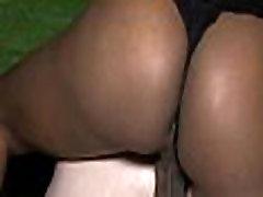 Ebony shemale fucking an dude ass
