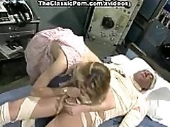 Capri Cameron, Brian Surewood in panty-less nurse fucks a patient in moon feet p