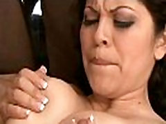 Horny Chick enjoys big black mother andd sonn xxx in her holes
