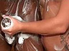 Soapy prisoner small End With a Big Cumshot 7