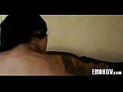 Emo slampa ar tetovējumiem 1149