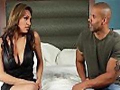 Busty latina TS Jessy Dubai analed while jerking her dick