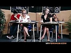 BRAZZERS - STUNNING BRUNETTE calendar milf porn SEDUCES HER HOT BLONDE CLASSMATE