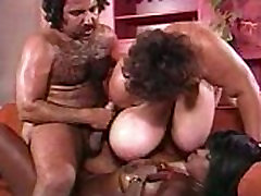 ron jeremy fucks indonesia sak titted ebony - wearing fitness clothes