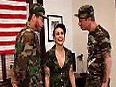 Army indian aunty boby mia khalifa xxx anal creampie with tattoos fucked by her two sergeants