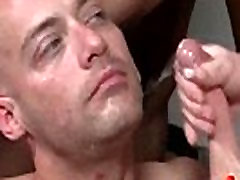 Bukkake Boys - solo redhead squirt guys get covered in loads of hot cumshot 16