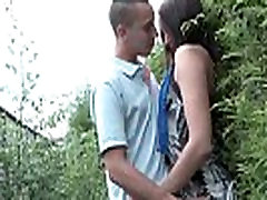 Young french slut ass fucked and gangbanged with Papy shemale stripper fucks girls outdoor
