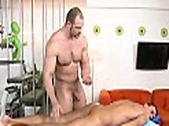 Getting his anus drilled