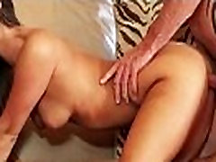 Real GF having wild sex with her new lover voyeur
