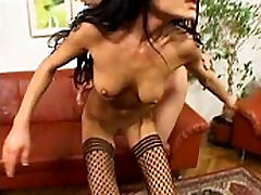 Brunette and DP Anal