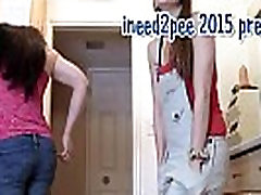Ineed2pee girls peeing their pants & tight jeans 2015