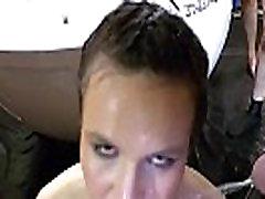 Nemški umazana kurba dobi usta cumshot
