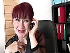 Cocksucking amžiaus moteris, kojinės jojimo gaidys