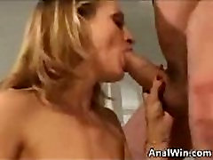 Blonde Student With watch on her Tits Anal Fucked