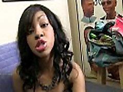 Hot ebony chick in 2 guys fuck asian hot xxx muvi 4