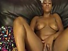 Ebony sam bowden cum tribute With Big Boobs Masturbating