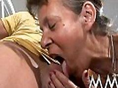 Granny big soft jiggly ass