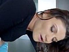 Slut pushes creampie out