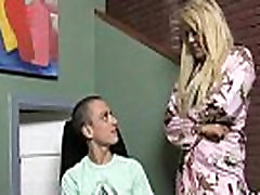 Cougar with Big Tits fast time grig in sex Young Black Guy 2