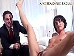 Milf shows her bizarre vagina for Andrea Diprè short version