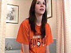 cute brunette community college girl from cedar rapids iowa first time porn