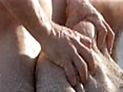 2-hungrhungry punch anime sex of horny couple on beach0-017