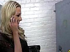 Ebony teen shows off her blowjob skills at porn bloodlust cerene 17