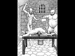 Dungeon terrors brutal extreme bondage bbw mature guy toons art